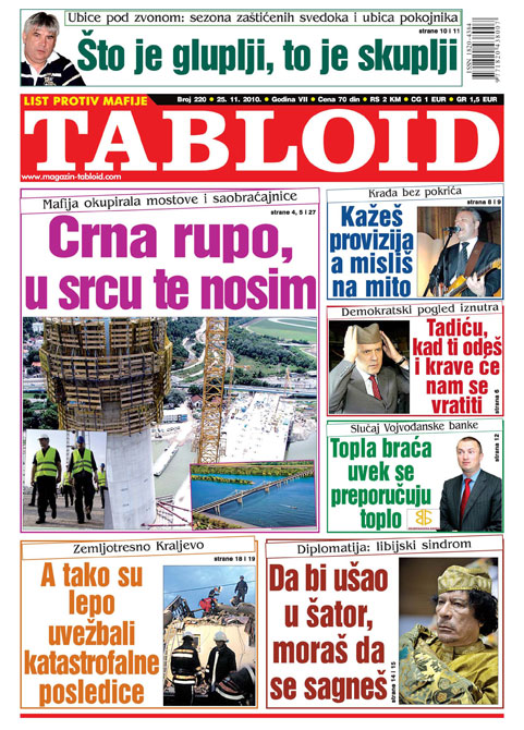Tabloid List Mafije